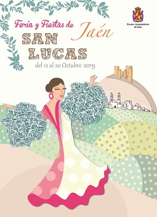 Cartel Feria y Fiestas San Lucas 2019 Jaén